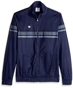 Champion LIFE Men's Full Zip Track Jacket , Navy, 2X Large