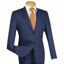 men s indigo blue 2 button extreme