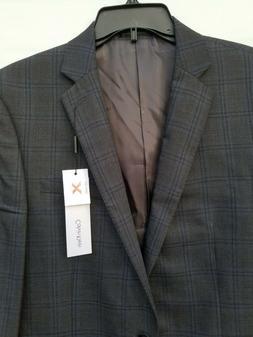 Calvin Klein Men's Jacket Slim Fit 100% Wool Suit Separate G