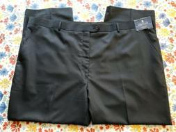 STAFFORD MEN'S NAVY BLUE BIG & TALL FIT TRAVEL SUIT SEPARATE