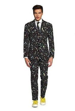 men s party suit size 50 disco