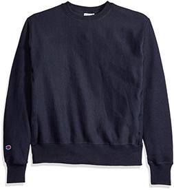 Champion LIFE Men's Reverse Weave Sweatshirt, Navy, XL