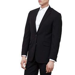 men s slim fit suit separate black