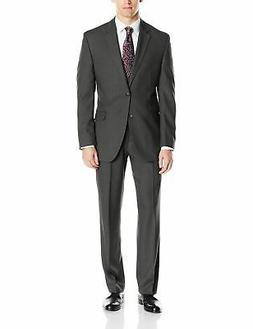 Perry Ellis Men's Slim Fit Suit with Hemmed Pant,  - Choose