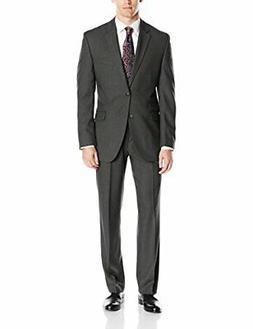 Perry Ellis Men's Slim Fit Suit with Hemmed Pant - Choose SZ