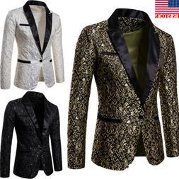 men s suit coat casual slim formal