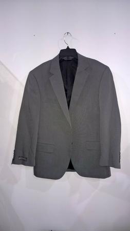 Covington Men's Suit Separates Med Grey Suit/Sport Coat  Jac