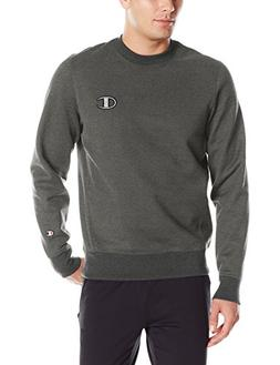 Champion LIFE Men's Super Fleece 2.0 Crew, Granite Heather,