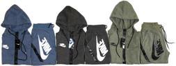 Nike Men's Sweat Suit Brand New Full Zip Hoodie + Joggers Co