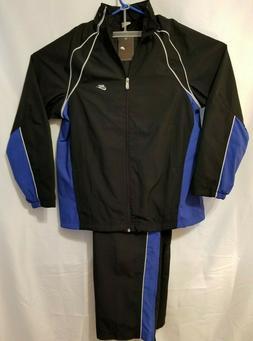 Nike Men's Track Jogging Running Suit Jacket & Pants Black &