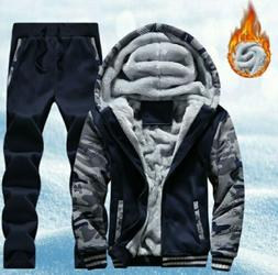 Men's Tracksuit Jogging Hoodie Coat Jacket Trousers Pants Sp