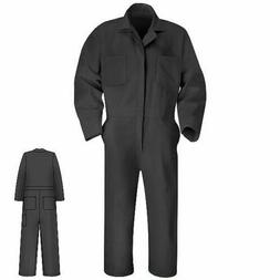Red Kap Men's Twill Action Back Coverall CT10 Charocla Regul