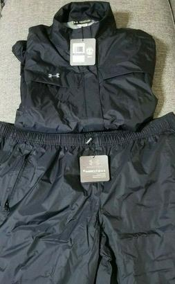 Under Armour Men's UA Storm3 Golf Rain Suit Black Size XXL N