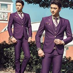 Men's Wedding Suit Business Party Tuxedo Groom Blazers Jacke