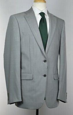 Calvin Klein Men's Wool Light Gray Stretch X Slim Fit Suit S