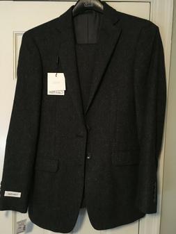 Men's Calvin Klein X Slim Charcoal Suit - Extra Slim Size 36