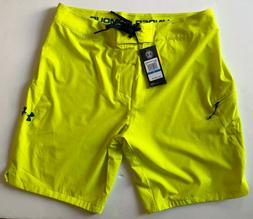 Men Size 36 Under Armour swim board shorts trunks swimming s