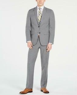 Men Van Heusen Slim-Fit Flex Stretch Wrinkle-Resistant Gray