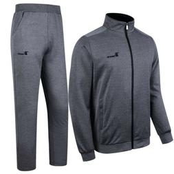 Men Sports Suits Athletic Apparel Coats+Pants Running Casual