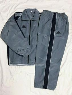 Adidas Men Track Suit Running Game time Training Work Out Gy