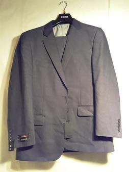 Renoir Suit Mens Brown Textured 202-1 40L  34W FATHERS DAY C