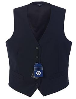 Gioberti Mens 5 Button Formal Suit Vest, Navy, Small