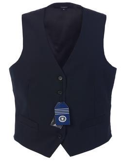 Gioberti Mens 5 Button Formal Suit Vest Navy Size L Large CL