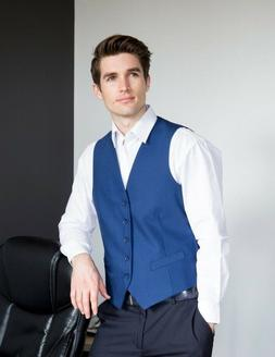 Gioberti Mens 5 Button Formal Suit Vest