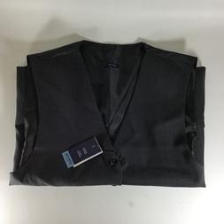 Stafford Men's Big & Tall Travel Stretch Suit Vest Med Gre