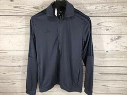 Adidas Mens Blue 3 Stripes 2-Piece Tracksuit Jacket Pants Si