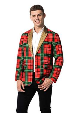 U LOOK UGLY TODAY Men's Christmas Party Blazer Funny Xmas