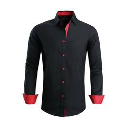 Alex Vando Mens Dress Shirts Regular Fit Long Sleeve Men Shi