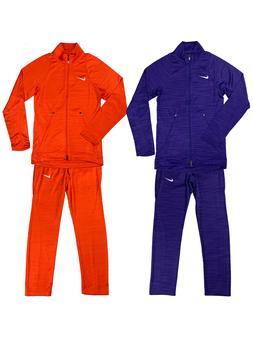 Nike Mens Dri-Fit Team Player Warm Up Suit Set Orange/Purple