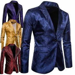 Mens Formal Blazer Suit Jacket Tux Waistcoat Trousers Weddin