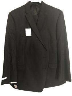 Calvin Klein Men's Suit Black 60L, 56 X 32 NWT