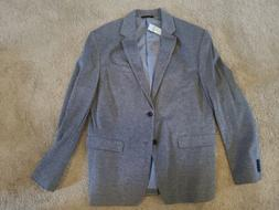Banana Republic Mens Suit Jacket Gray Sport Coat Blazer Size