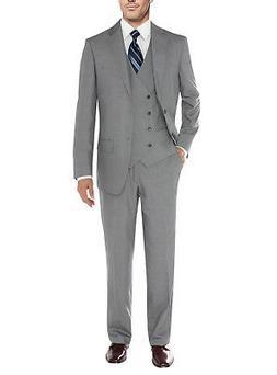 Salvatore Exte Mens Suit Vested Three Piece Blazer Jacket Dr