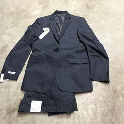mens calvin klein X extreme slim fit 2 piece suit jacket 40