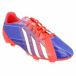 MESSI FOR ADIDAS BOYS FOOTBALL BOOTS ORANGE/PURPLE F5 TRX TF