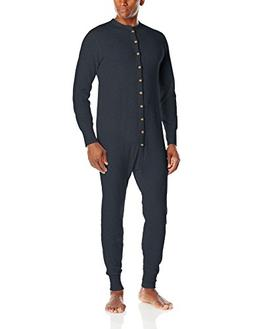 Duofold Men's Mid Weight Double Layer Thermal Union suit, Na