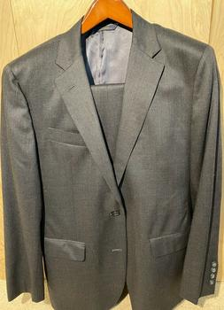 Brooks Brothers Milano Fit Two-Button 1818 Suit Size 40 Regu