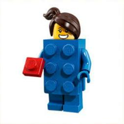 Lego Minifigures Series 18 LEGO Brick Suit Girl