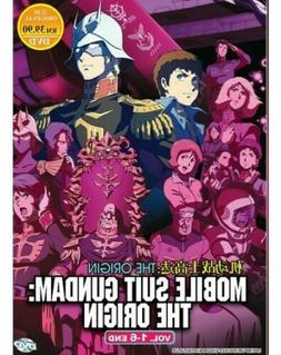 Mobile Suit Gundam: The Origin DVD  with English Dubbed