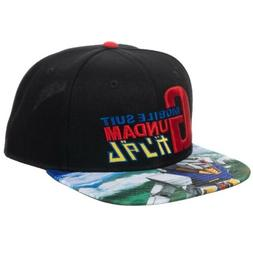 Mobile Suit Gundam Sublimated Bill Snapback Cap Hat