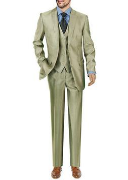 Darya Trading Modern Fit Two Button Three Piece Mens Suit Wi
