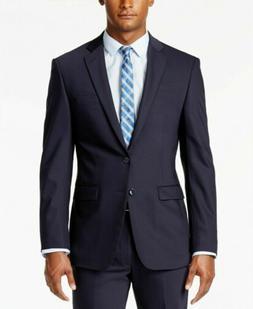 Calvin Klein Men's Navy X-Fit Suit Separates Jacket