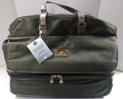 new 21 double decker expandable duffle tote