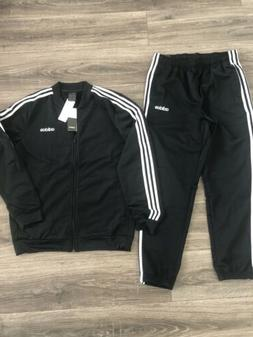 New Authentic Adidas 3 Strip Track Suit Mens Jacket And Pant