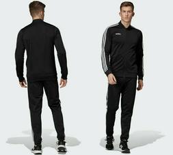 new adidas BACK 2 BASICS TRACK SUIT SET black sz S M L Jacke