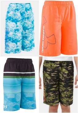 New Under Armour Boys Volley Board Swim Shorts Choose Size a